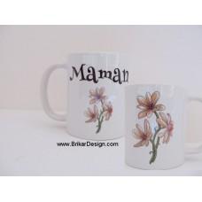 Tasse Maman fleur