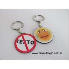 Porte clés pas de texto