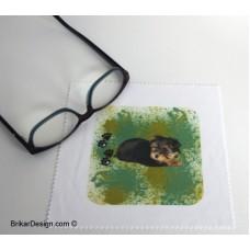 Lingette pour lunette Yorkshire vert