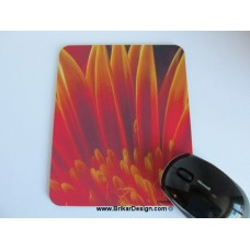 Tapis de souris orange
