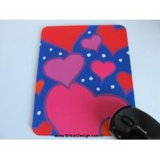Tapis de souris coeur
