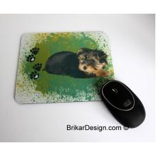 Tapis de souris Yorkshire vert